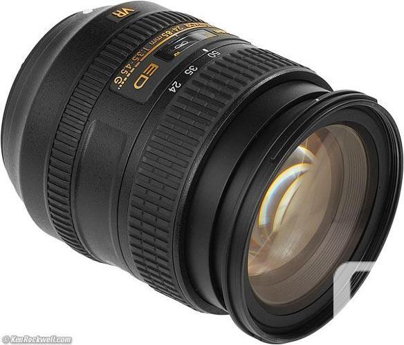 NIKKOR premium AF-S 24-85 3.5-4.5 G ED / *REDUCED*