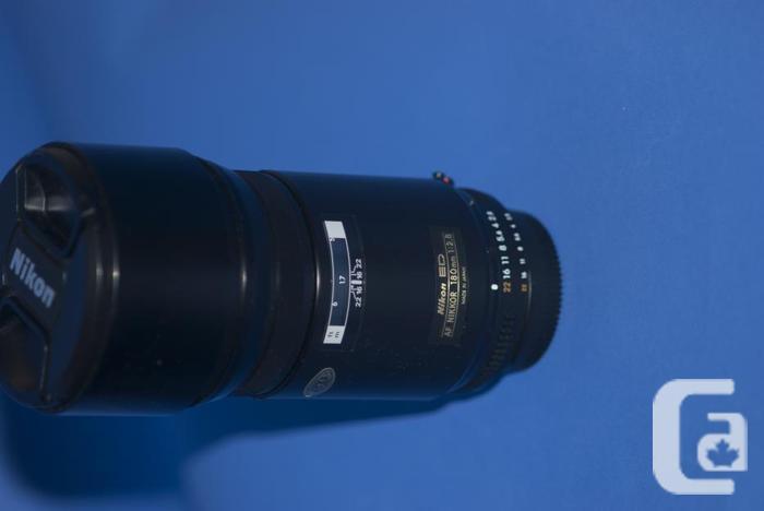 Nikon AF 180mm f2.8 ED telephoto lens