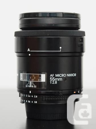 Nikon AF 55mm F/2.8 Micro Nikkor *Minty* - $350