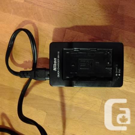 Nikon Battery Charger MH-18 - $20