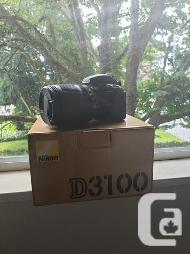 Nikon D3100 with 18-105mm Lens