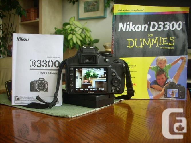 Nikon D3300 with 35mm f1.8 lens