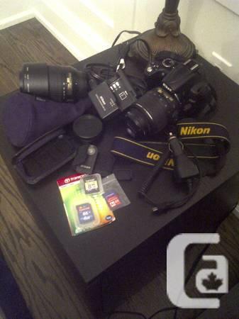 Nikon D5000 W/Accessories - $850