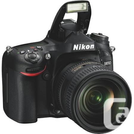 Nikon D610 24.3MP DSLR Body **Brand New in Box** -