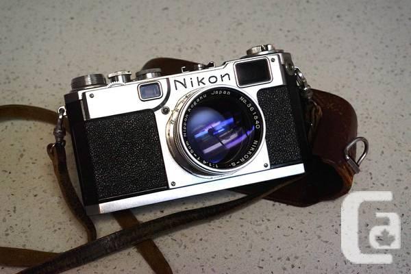 Nikon S2 camera with Nikkor 50/1.4 contact - $800