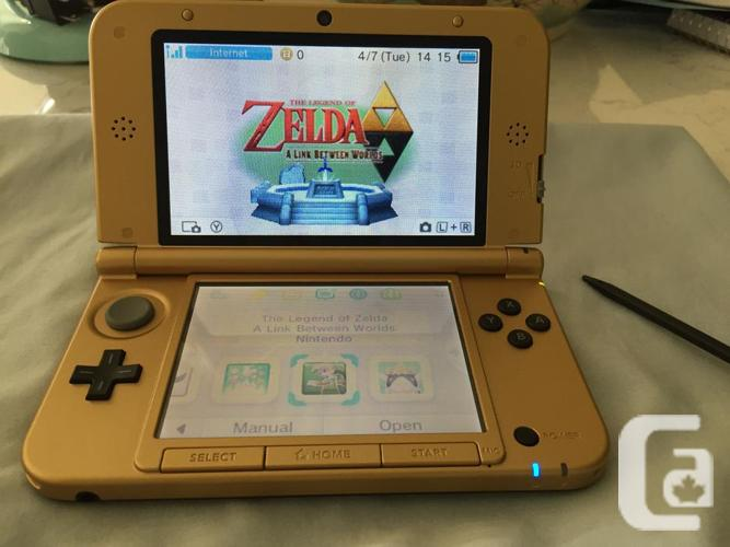 NINTENDO 3DS XL: THE LEGEND OF ZELDA A LINK BETWEEN