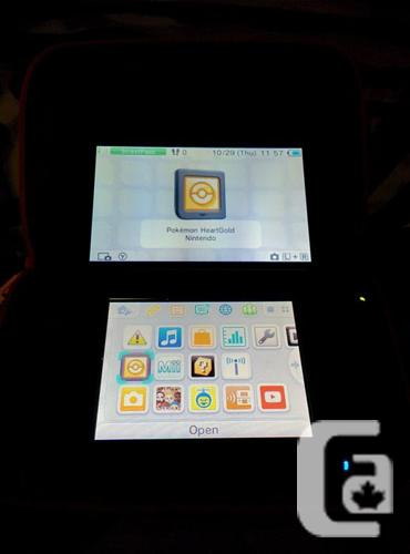 Nintendo 3ds XL w/games