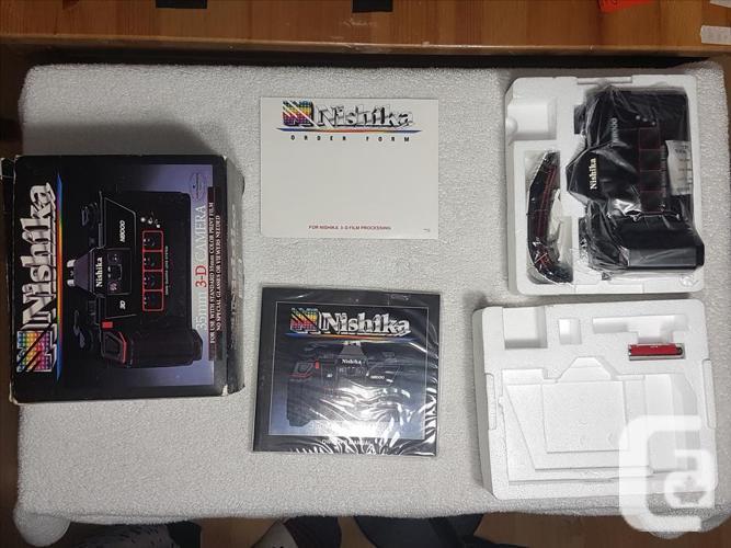 NISHIKA N8000 35mm 3D CAMERA [UNUSED IN ORIGINAL BOX]