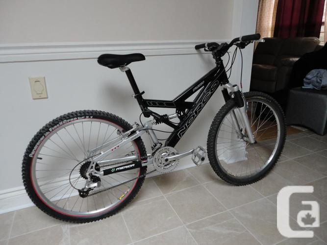 NORCO Fury 24 Speed Full Suspension Mountain Bike!