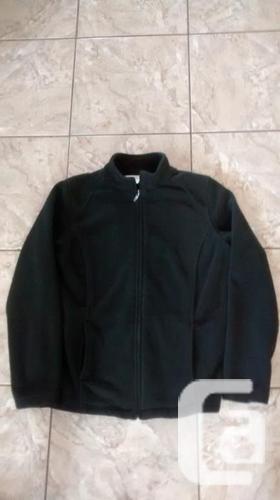 Northern Reflections Heavy Dark Green Fleece Jacket -