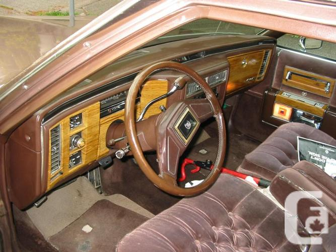 NOT RUSTY!! 84 Cadillac,Brougham D'Elegance,newer