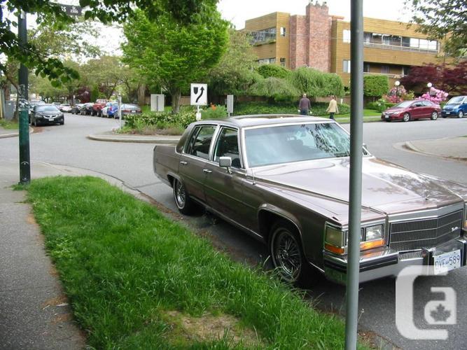 NOT RUSTY!! 84 Cadillac,Brougham D'Elegance,