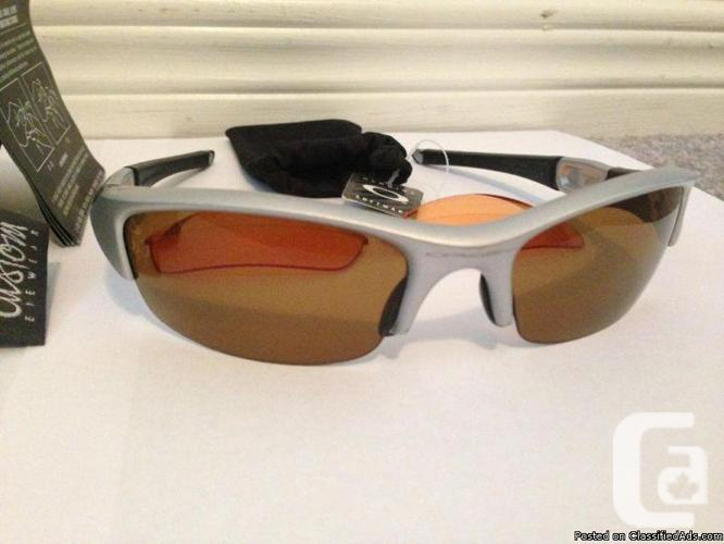Oakley Jacket Polarized Glasses WITH ACCESSORIES/OBO