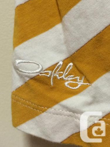 Oakley Striped Tank Top Shirt - Women's XS