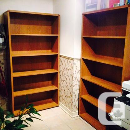 Office suite - L-shaped desk with 2 bookcases