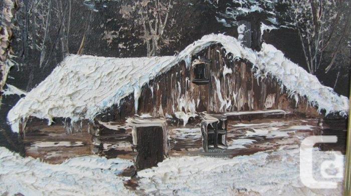 Oil Paintings of Cabin Scenes