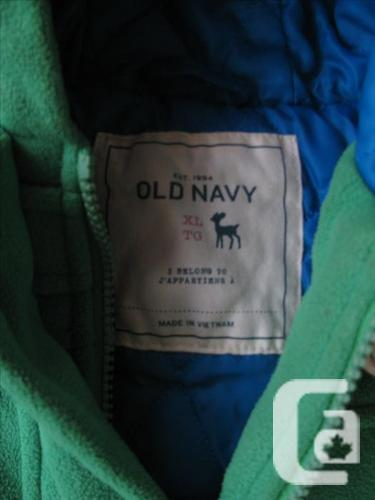 Old Navy Fleece Toggle Coat size xlarge