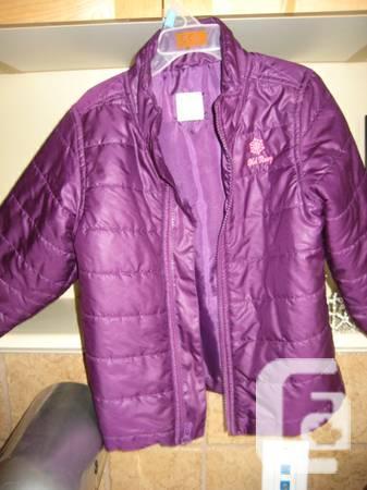 OLD NAVY JACKET Girl's Purple Frost Free Jacket - 3T
