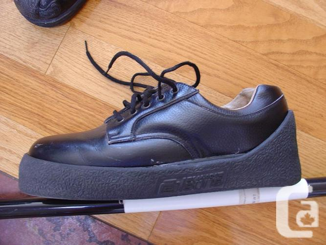 olson curling shoes