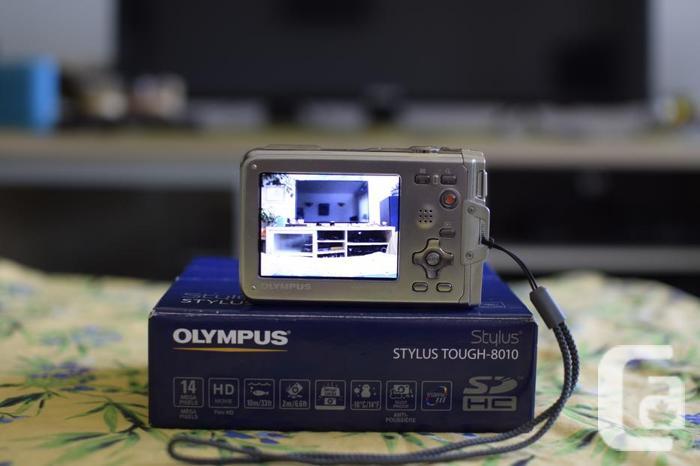 Olympus Stylus Tough-8010 14MP Waterproof Camera