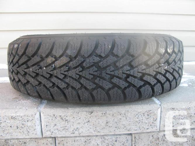 ONE (1) GOODYEAR NORDIC WINTER TIRE /175/70/14/ - $25