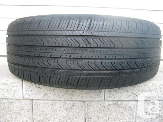 ONE (1) MICHELIN PRIMACY MXV4 TIRE /215/55/17/ - $30