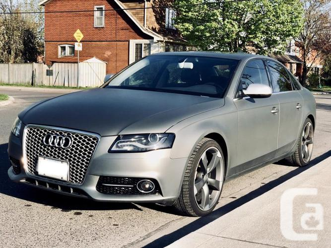One-of-a-kind 2010 Audi A4 Quattro Premium Plus $5k