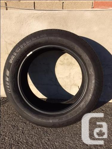 One used Michelin 17 inch MXV 4 Plus All Season tire