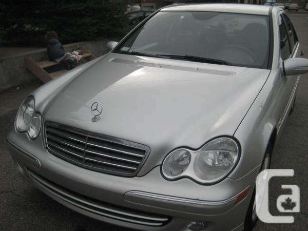 Only 103,660 KM 1Lady Owner 2005 Mercedes-Benz C 230