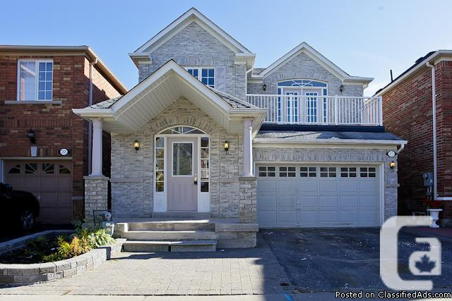 Open house Sat Oct 19th and Sun Oct 20th 2pm-5pm- AJAX