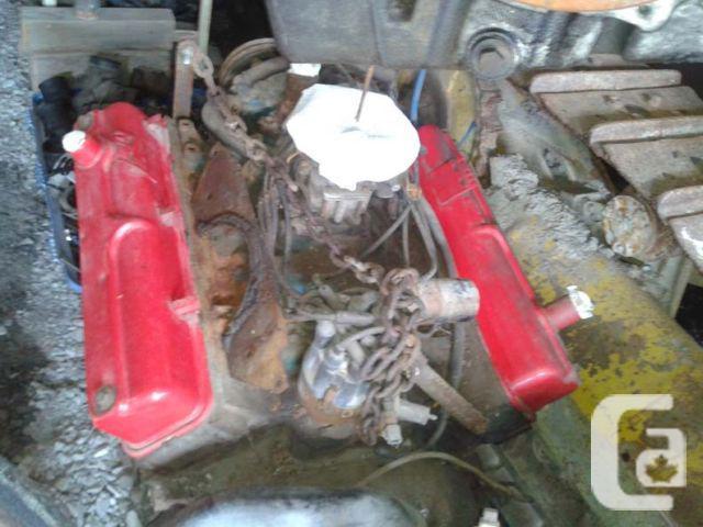 """Original 1957 Dodge 313 """"Sawtooth"""" Engine"""