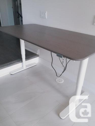 Original $665 Ikea best selling adjustable dest BEKANT