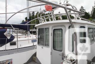 Osprey fishing boat