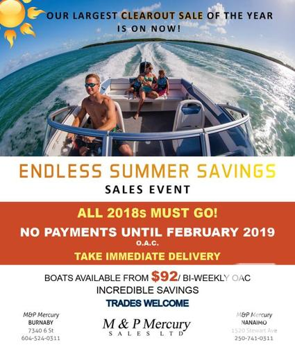 Our Biggest Boat Clearout Sale of the Year - Endless