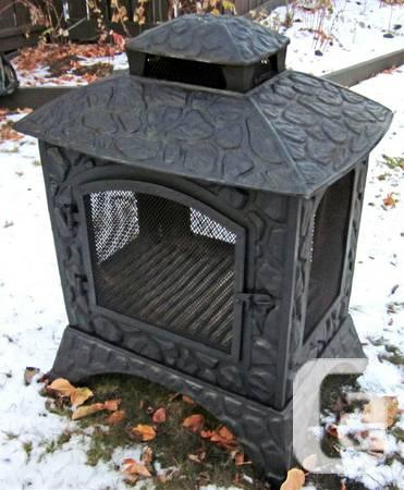 Outdoor Fireplace Cast Iron For Sale In Calgary Alberta