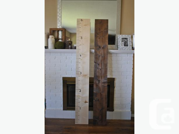 Oversized Ruler Growth Charts For Sale In Abbotsford British