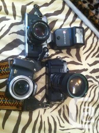 package deal of cameras - $150