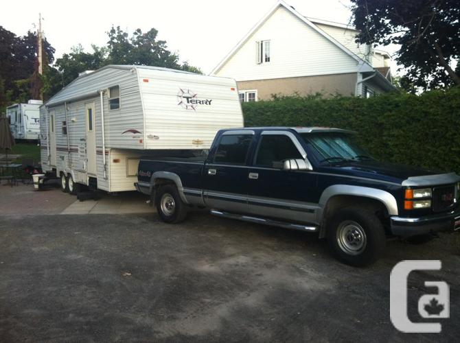 package deal truck and fifth wheel bunk house WILL