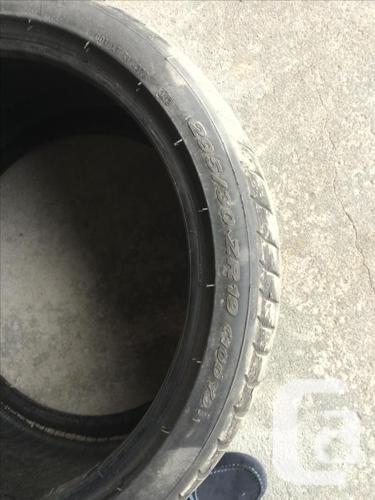 Pair of Pirelli P Zero Tires