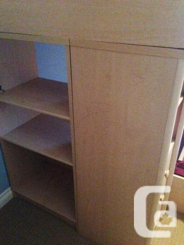 Palliser Bunk Bed With Side Desk And Bookcase For Sale In La Macaza