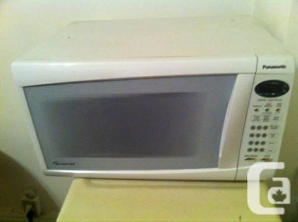 Panasonic Microwave White - $30