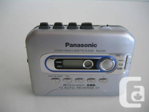 Panasonic Stereo Radio Cassette Player RQ-E20V - $50