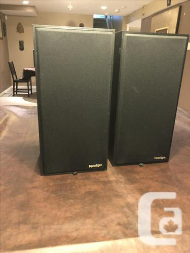Paradigm Speakers Model 3se with stands - great