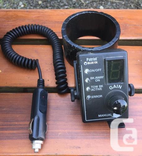 Patriot Blue Ox tow car portable braking system + Alpha