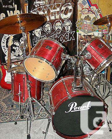 Pearl Export Select 8 item drumkit with Cymbals