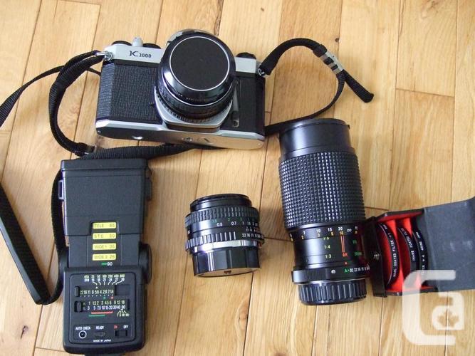 Pentax K1000 manual SLR