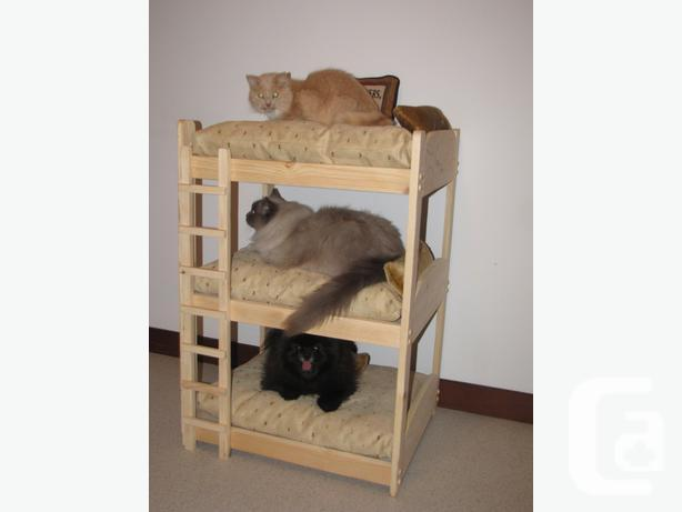 pet bed bunk bed 2 tier and 3 tier for dogs and cats for sale in west st paul manitoba. Black Bedroom Furniture Sets. Home Design Ideas