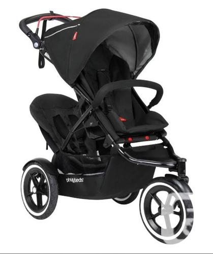 Phil Teds Classic Double Stroller Incl Car Seat