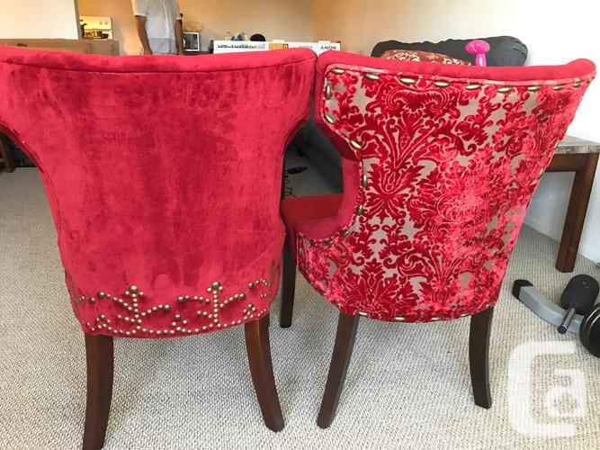 Groovy Pier 1 Red Velvet Accent Chairs In Victoria British Columbia For Sale Uwap Interior Chair Design Uwaporg