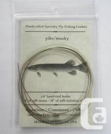 Pike Fishing Leaders - $6
